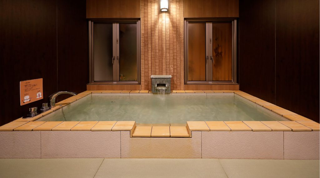 潮騒の宿ふじま:楠の湯