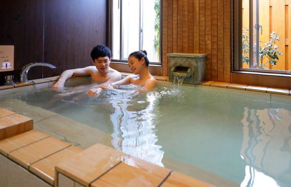 潮騒の宿ふじま:貸切風呂